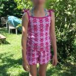 pyja short jersey grenouille flou