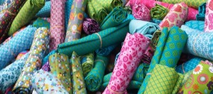 fond tissu colorés