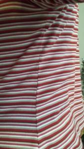 tee shirt tendance couture raccord