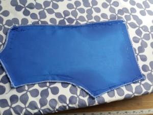 corsage bleu 8 ans