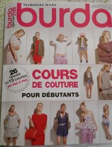 burda cours de couture