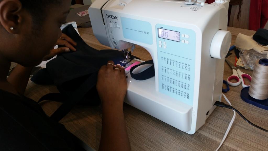 mon premier tote bag couture sp cial d butante ma maman la f e. Black Bedroom Furniture Sets. Home Design Ideas